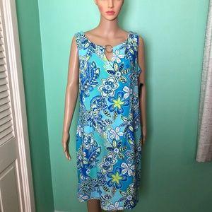 Ronni Nicole Sleeveless Shift Dress. Size 16.